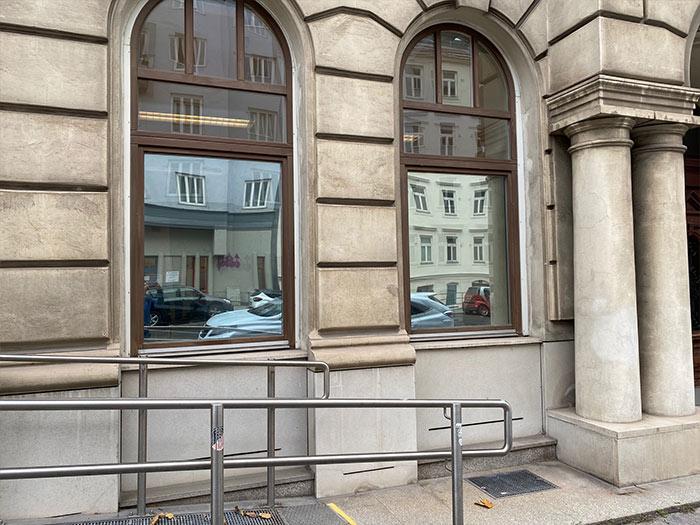 Sasha Zemann Fensterfolien Sichtschutz